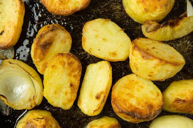 Kartoffeln in der Mikrowelle