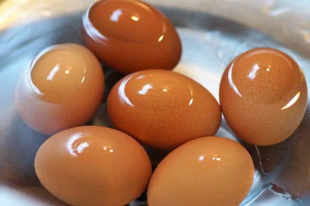 Eier in der Mikrowelle