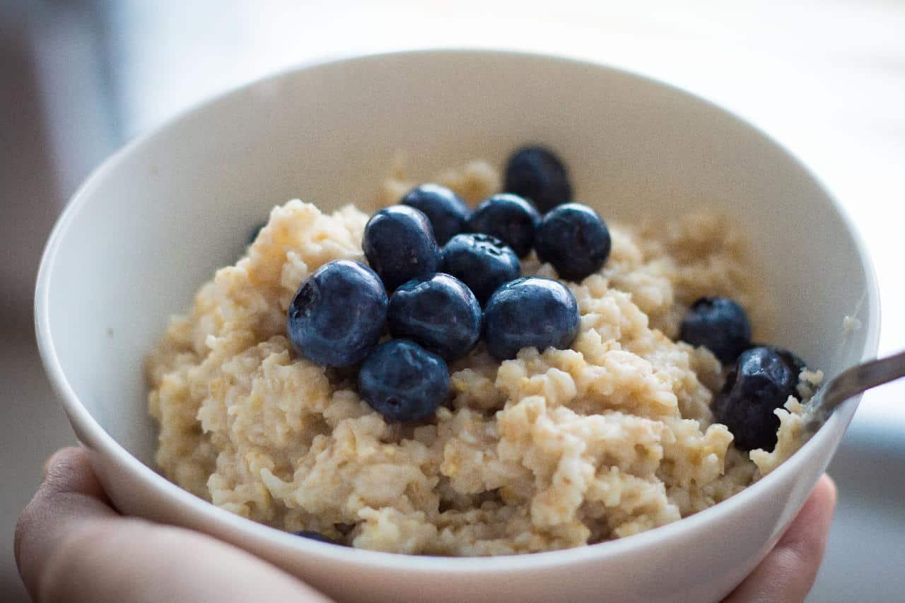 Porridge aus der Mikrowelle