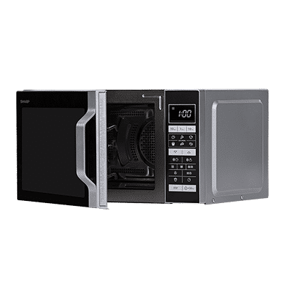 Mikrowelle ohne Drehteller